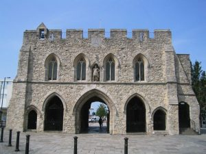 Bargate, Southampton - view from the north
